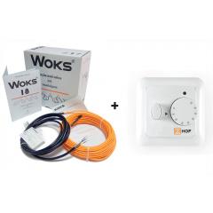 Комплекти WOKS  18 ( Тонкий кабель в стяжку )