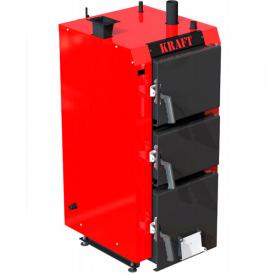 Котел 20 кВт KRAFT S20 сталь 5 мм горение 8-18 часов