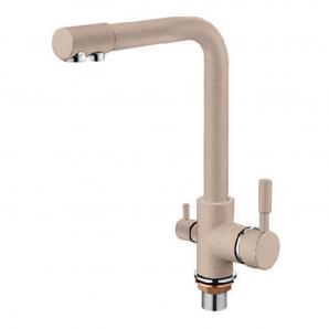 Змішувач для кухні ZERIX LR4055K-3 з виходом для питної води (ZX2644)