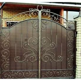 Кованые ворота закрытые Б0051зк Legran