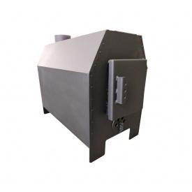 Печь Буржуй 5 кВт с варочной поверхностью