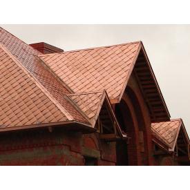 мийка мідної крівлі даху