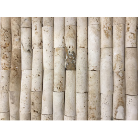 Мозаїка з натурального травертину 30,5x30,5 см