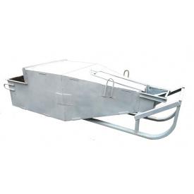 Бункер поворотный Башмак БП-1,5 куб (V-1,5 м3 350 кг 3400/1350/1000)