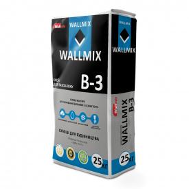 Клей для газоблоку Wallmix В-3 25 кг