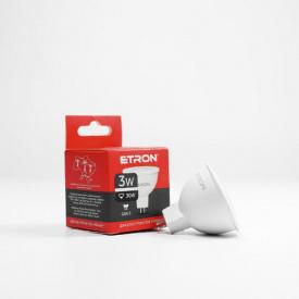 Лампа светодиодная ETRON Light Power 1-ELP-064 MR16 3W 4200K 220V GU5.3
