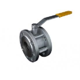 Кран шаровый стальной фланцевый 11с42п Ду150/100 Ру16