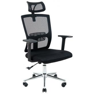 Офісне крісло Зума Richman 1090-1266х670х550 мм чорне