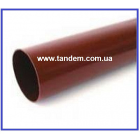 Водостічна труба INES 80 мм 3 м червоний