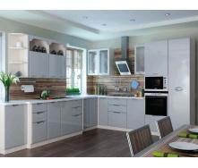 Кухня София Люкс комплект 2м серый Сокме