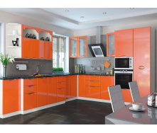 Кухня Софія Люкс комплект 2м оранж Сокме