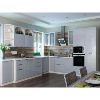Кухня Софія Люкс комплект 2м сірий Сокме