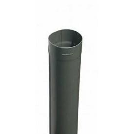 Водосточная труба RHEINZINK 3 м 100 мм титан цинк темно-серый