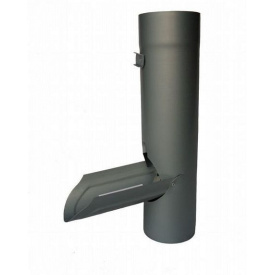 Ревизия с клапаном RHEINZINK 100 мм титан цинк темно-серый