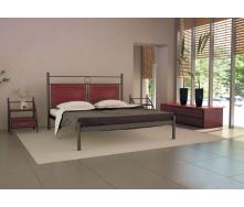 Кровать металлическая Николь 120 Металл дизайн