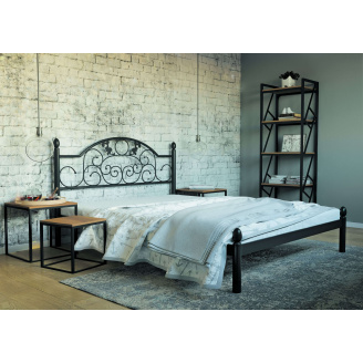 Ліжко металева Франческа 180 Метал дизайн