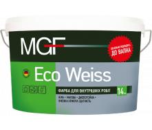 Фарба MGF M1 ЕСО Weiss 14 кг
