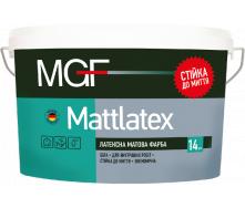 Фарба MGF M100 Mattlatex 7 кг латексна