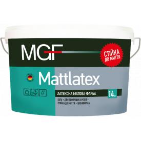 Краска MGF M100 Mattlatex 1,4 кг латексная