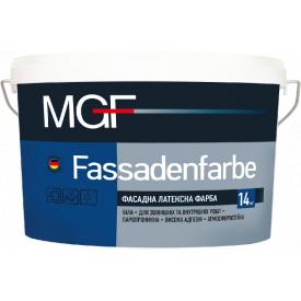 Краска MGF M90 Fassadenfarbe 1,4 кг фасадная