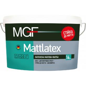 Фарба MGF M100 Mattlatex 1,4 кг латексна