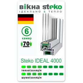 Металлопластиковое окно STEKO Ideal