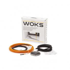 Нагревательный кабель Woks-18, 2190 Вт (123м)