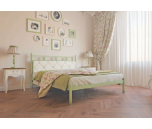 Ліжко металеве Белла 140 Метал дизайн
