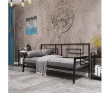 Ліжко-диван Квадро 80 Метал дизайн