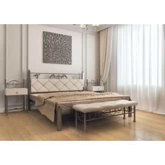 Ліжко металеве Стелла 180 Метал дизайн