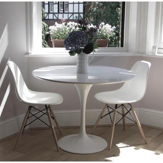 Обеденный белый стол и стулья Лофт №60 white для кухни
