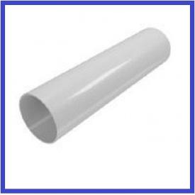 Водостічна труба INES 80 мм 3 м білий
