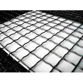 Сітка металева рифлена антивандальна канільована 55x55x3.8 (1,0м х 2,0м)