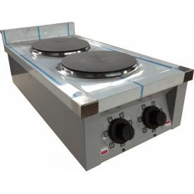 Плита электрическая кухонная настольная ЭПК-2 стандарт d-220 мм