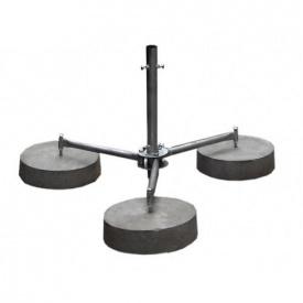 Тренога для мачты с бетонными основами 42 мм