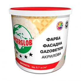 Фарба фасадна акрилова GAZOBETON 14кг