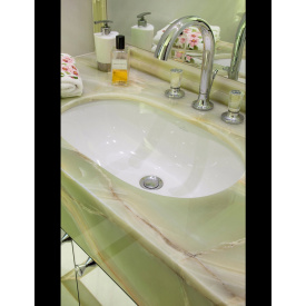 Стільниця онікс для ванної 1600х600х100мм