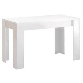 Стол обеденный Рома 120х65 белый глянец Миро-Марк
