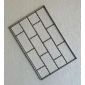 Форма для садовой дорожки Клинкерный Камень 60x40x6 см