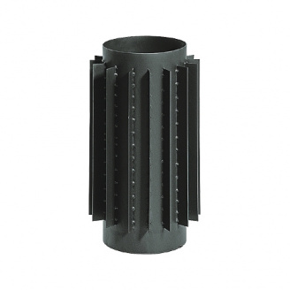 Труба радиатор для дымохода (2 мм) 50 см диаметр 200