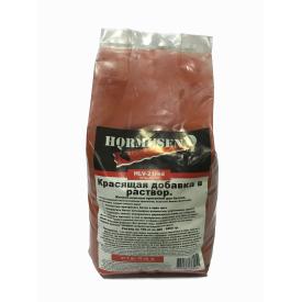 Пигмент краситель для бетона красный Hormusend HLV-21 2 кг