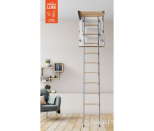 Чердачные лестницы Bukwood DOUBLE LUXE Metal Standard