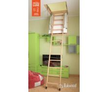 Горищні сходи Bukwood DOUBLE LUXE Standart