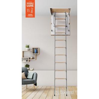 Чердачные лестницы Bukwood DOUBLE LUXE Metal mini