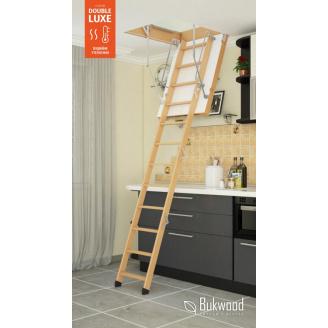 Горищні сходи Bukwood DOUBLE LUXE mini
