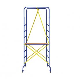 Мини подмости Мастерок-2 размер настила 0.46 х 1.51 (м)