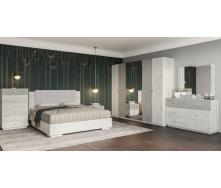 Спальня Вівіан 4д Світ меблів Аляска / моноліт