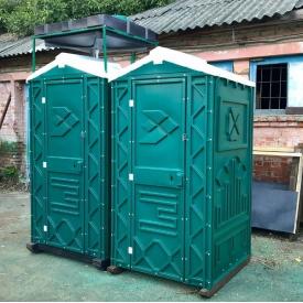 Пластикова душова кабіна вулична 2450х1100х1100 мм