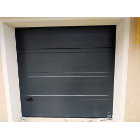 Гаражные секционные ворота Ryterna 2500х2500 TopRib Ral7016