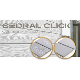 Фиброцементный сайдинг Кедрал Cedral Click